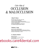 Color Atlas of Occlusion & Malocclusion (pdf)