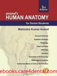 anand's Human Anatomy for Dental Students, 3rd Edition (pdf)